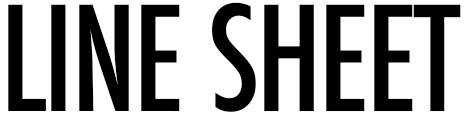 LINESHEET